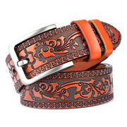 Denzell Outwear Royal Leather Belt Denzell Outwear SandyBrown 41inches - 105cm