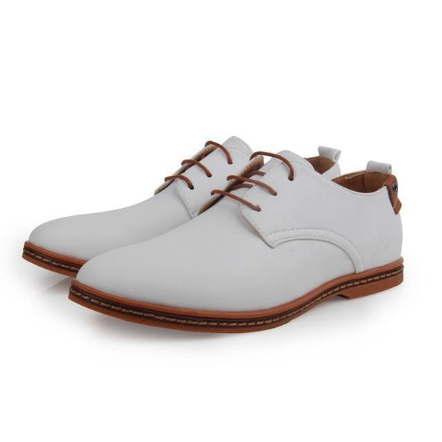 Denzell Outwear Oxford Shoes Denzell Outwear White US 6 / EU 37