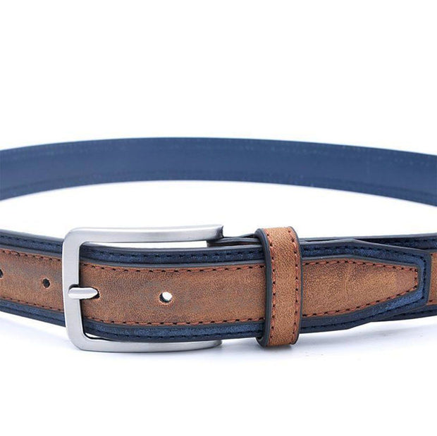 Denzell Outwear Trimmed Leather Belt Denzell Outwear