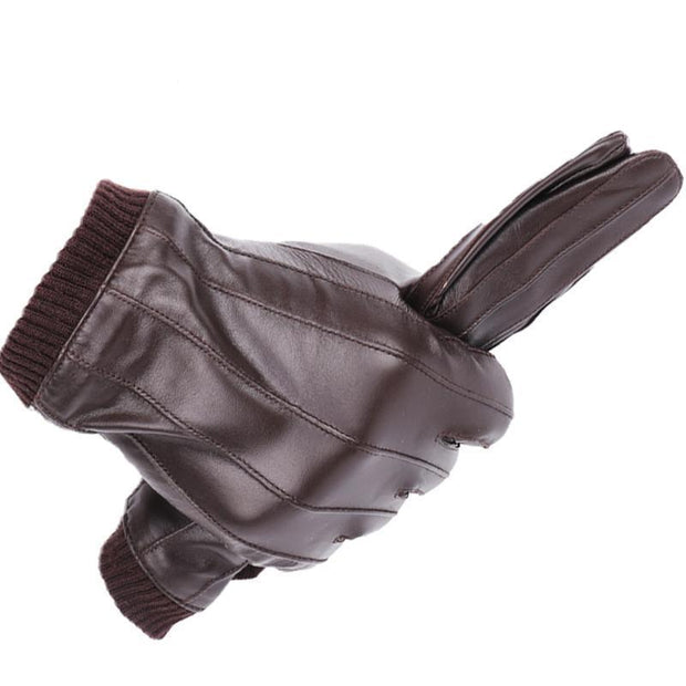 Denzell Outwear Lined Leather Gloves Denzell Outwear