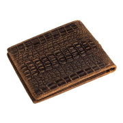 Denzell Outwear Alligator Leather Wallet Denzell Outwear
