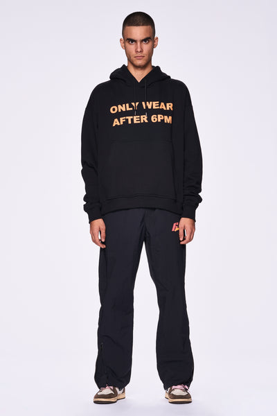 ONLY WEAR AFTER 6PM HOODIE BLACK