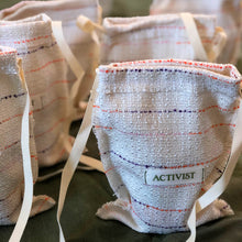 Load image into Gallery viewer, Activist Handmade Slings Crafted with Deadstock Yarns