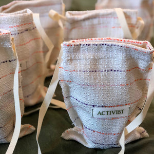 Activist Handmade Slings Crafted with Deadstock Yarns