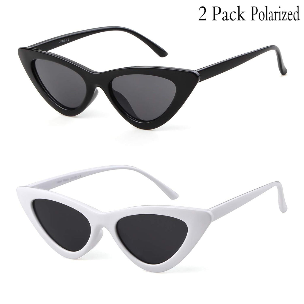 0cacd35f8d4f Gifiore Retro Vintage Cateye Sunglasses for Women Clout Goggles Plastic  Frame Glasses