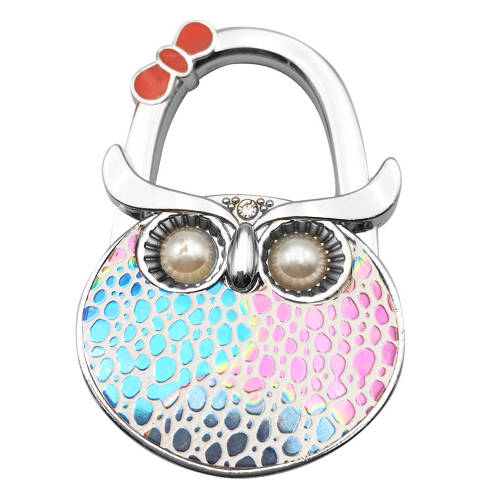 Bathroom Fixtures Bathroom Hardware Clever Ladies Butterfly Pattern Folding Handbag Purse Hanger Hook For Table Be Friendly In Use