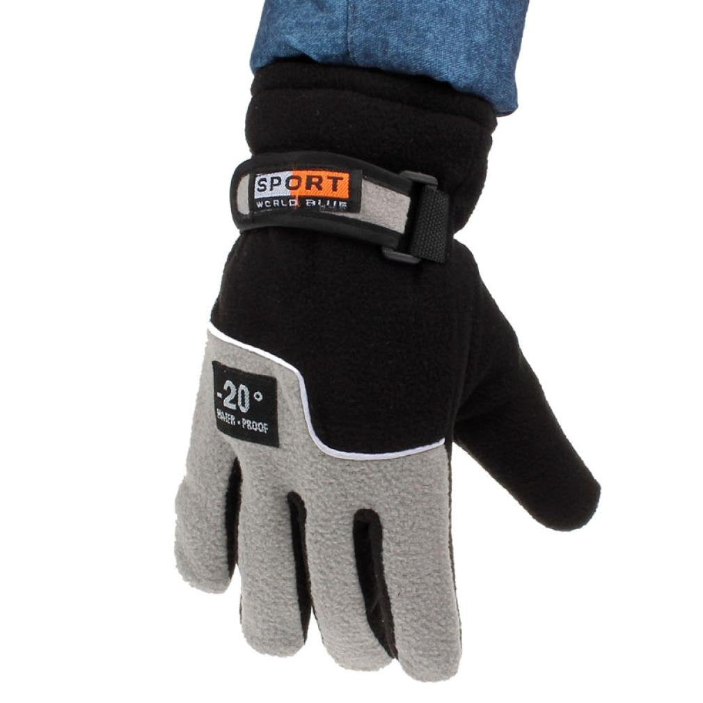 Gloves,toraway Windproof Men Thermal Winter Outdoor Sports Gloves Mitten