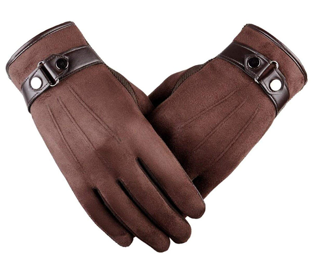 Tomily Men's Texting Touchscreen Gloves Winter Warm Outdoor Cycling Gloves