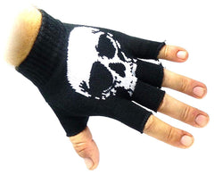 JTC Belt Unisex Half Finger Stretchy Fingerless Gloves One Size Fits Most (Many Color/Styles Available)