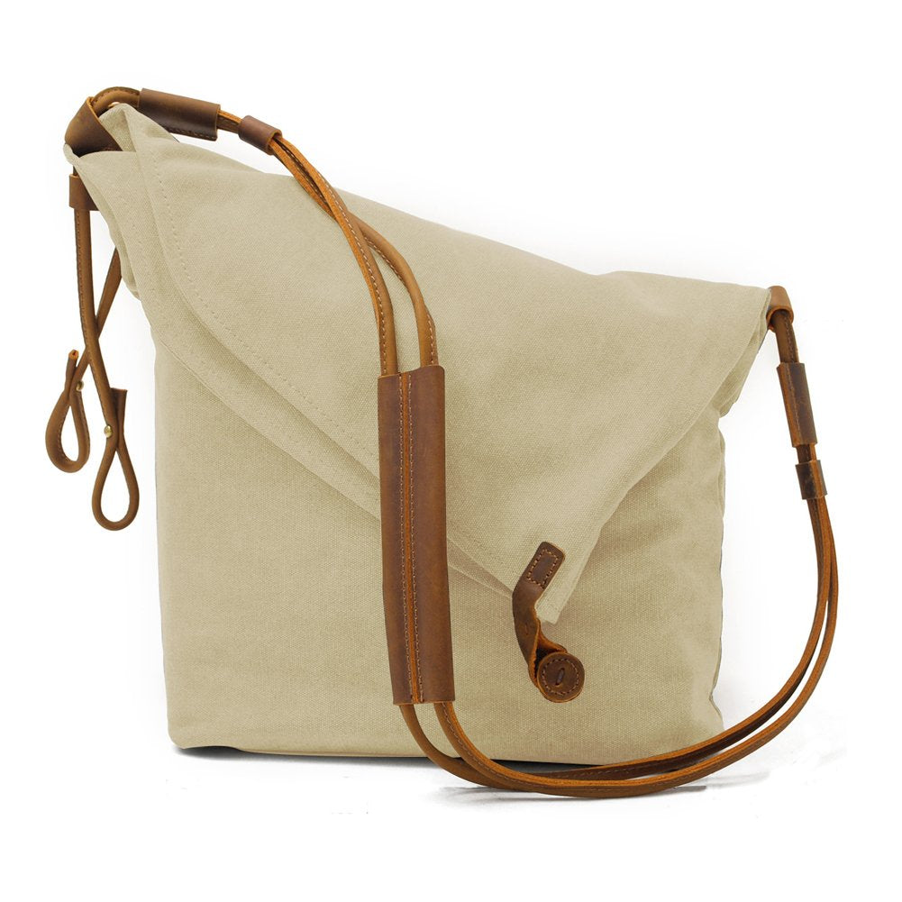 97b7d3bc2fb2 Kemy's Canvas Travel Crossbody Bags for Women Vintage Over the Shoulder  Body Bag Traveling Satchel