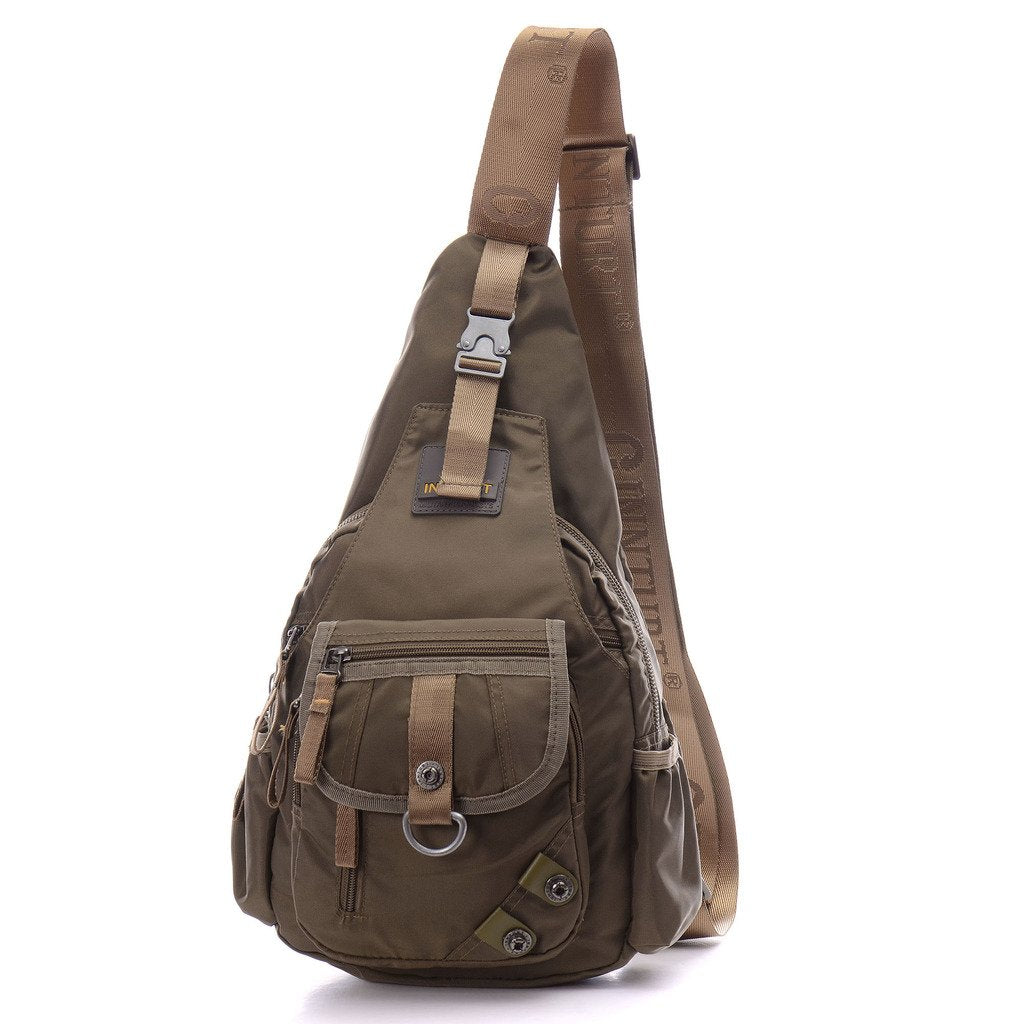 BIG SALE- DDDH Sling Bag Shoulder Backpack Chest Pack Military Crossbody Bags for Man Women(Army green)