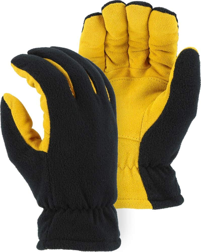 Heatlok Thermal Gloves Split Deerskin Palm