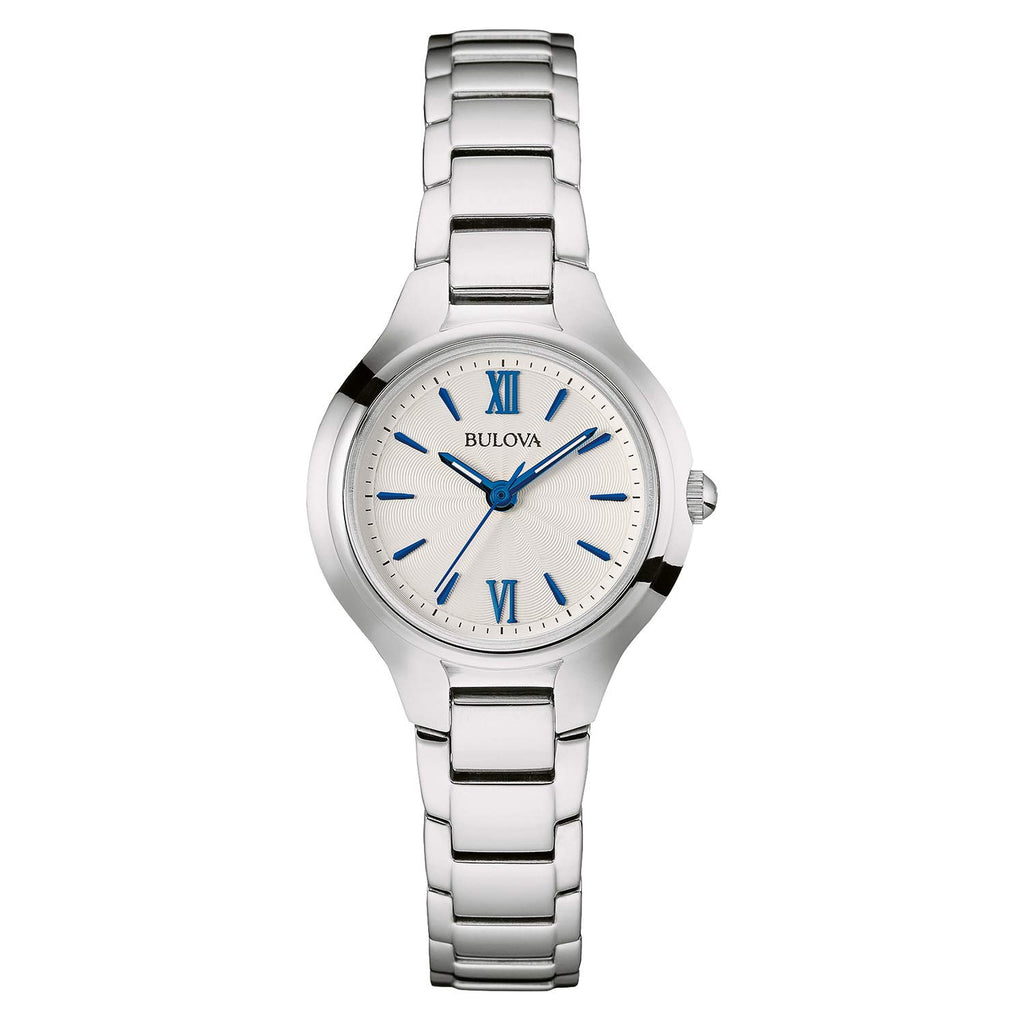 Bulova Women's 96L215 Analog Display Quartz Silver Watch