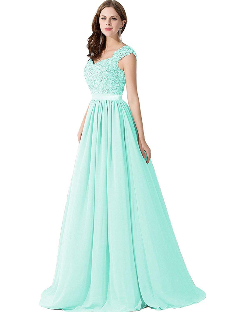 ad20893d5c8 Babyonlinedress Babyonline Lace Backless Long Formal Evening Prom Dresses  for Wedding Party ...