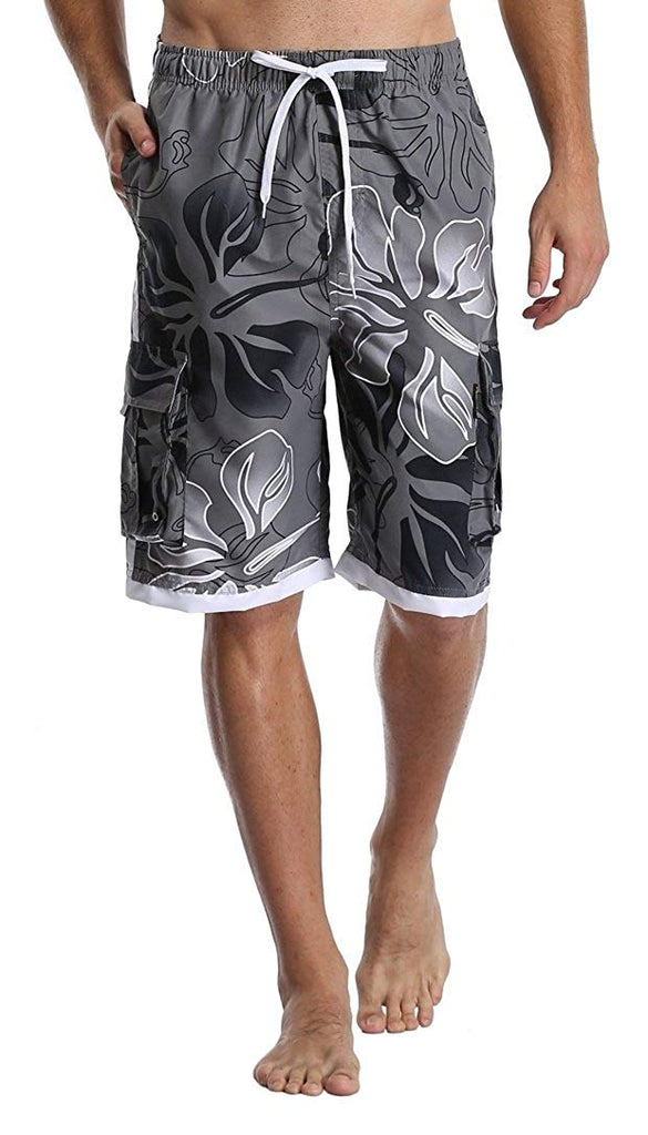 Polyester Show Me Your Pitties Beachwear with Pockets Xk7@KU Mens Quick Dry Beach Shorts