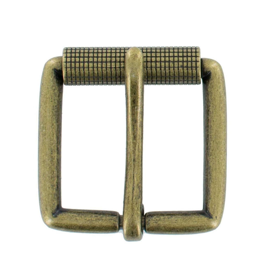 "Hanks 1.5"" Replacement Belt Buckle, Antique Roller Buckle – 100 Year Warranty"