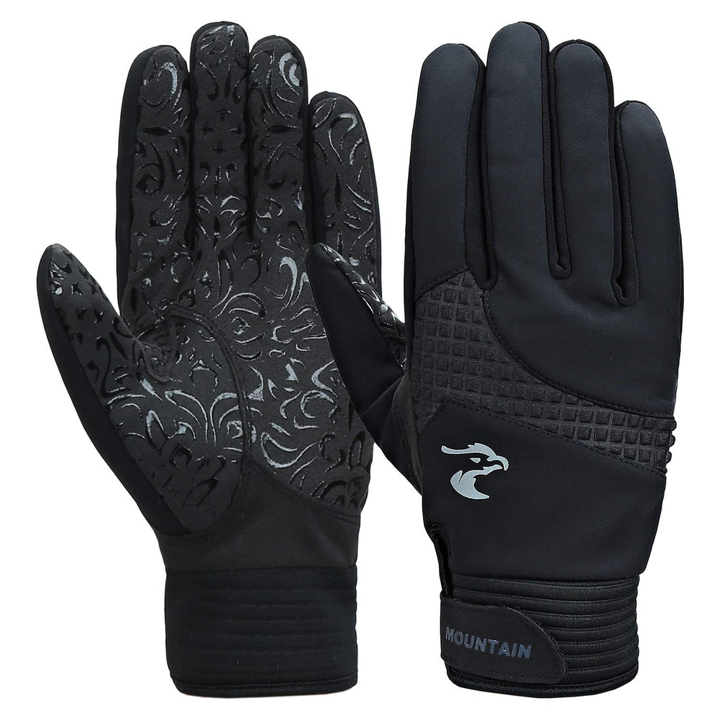 Mens Winter Windproof & Waterproof Non-slip Warm Thermal Gloves for Cycling