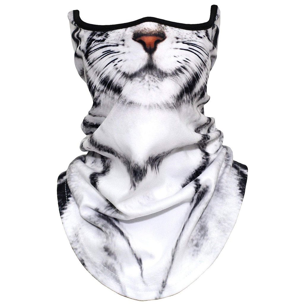 AXBXCX 3D Animal Neck Gaiter Warmer Windproof Face Mask