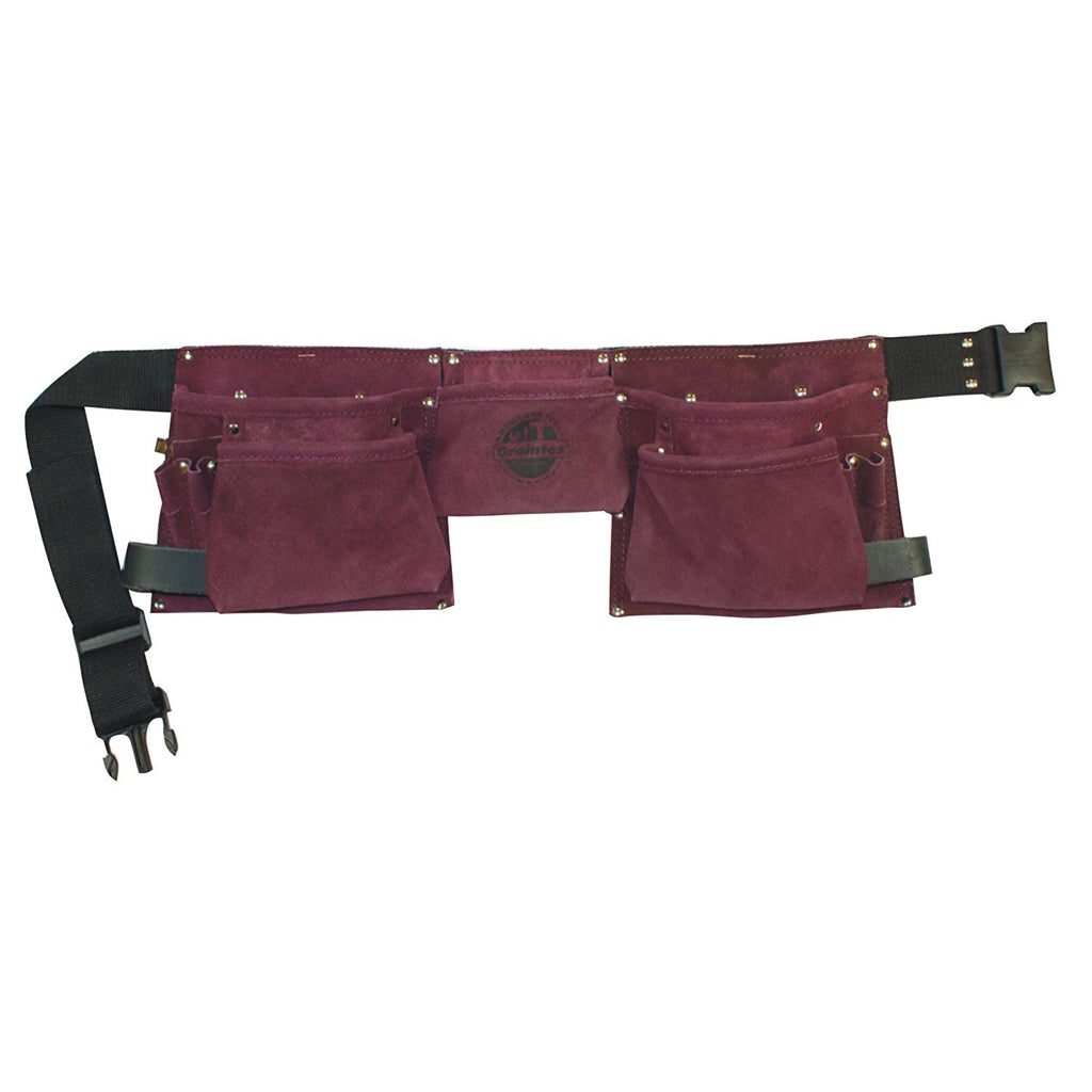 Graintex DS1125 8-Pocket Purple Tool Belt for Women