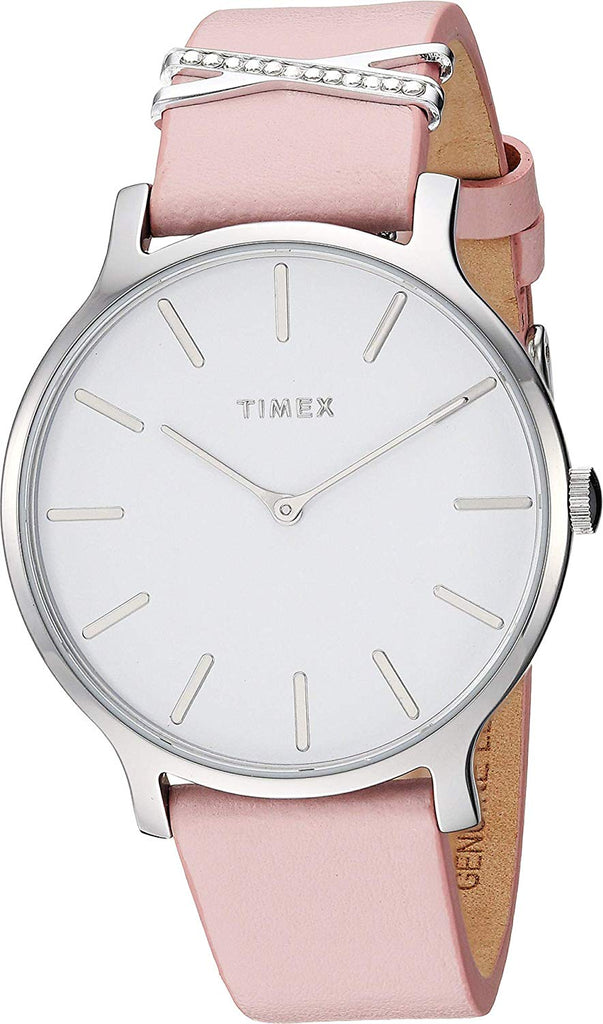 Timex Women's 38 mm Transcend Leather Strap