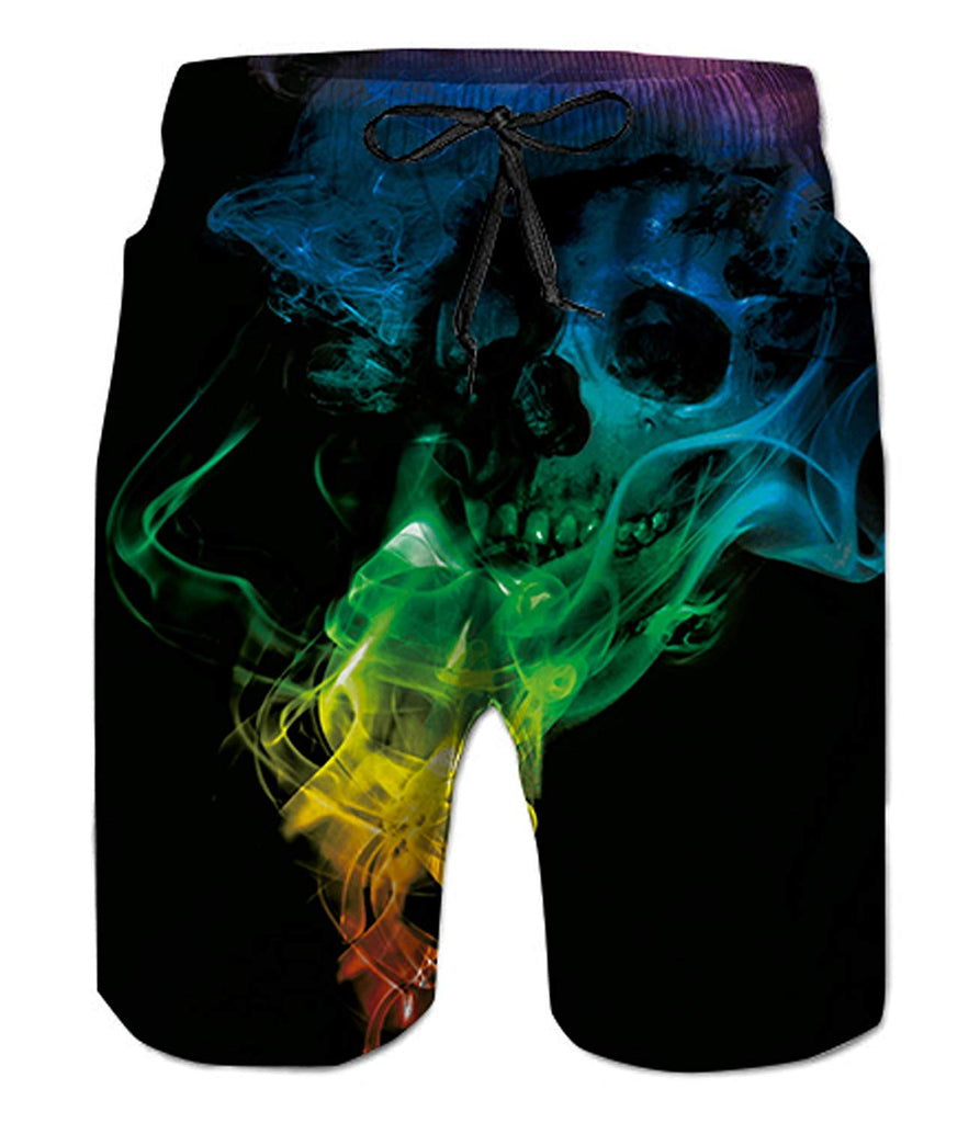 b7b3896ec9 ... Belovecol Mens Swim Trunks Summer Cool Quick Dry Board Shorts Bathing  Suit with Side Pockets Mesh ...