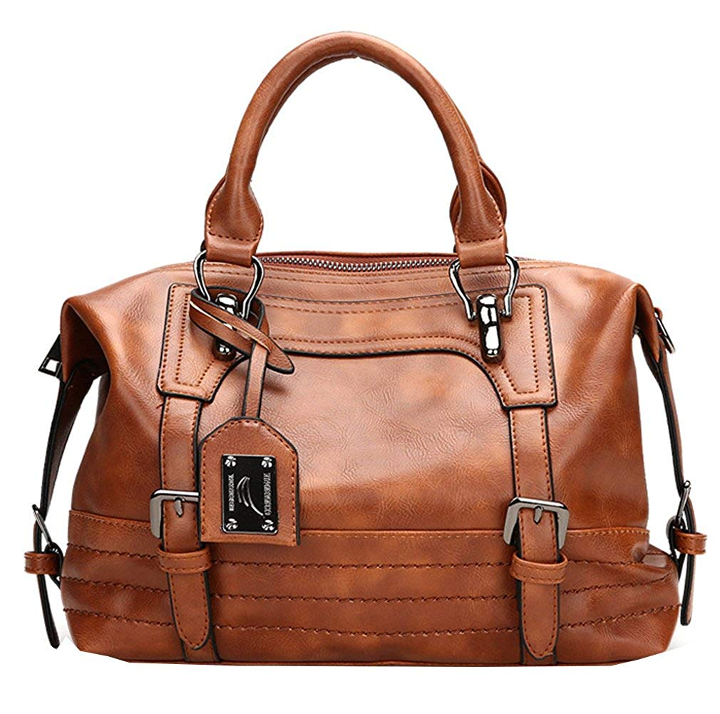 Women Top Handle Satchel Handbags Desert Cactus Shoulder Tote Bag