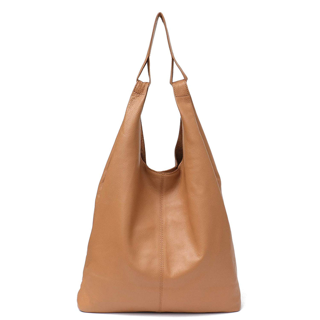 1be5dc422fe4 Women's Hobo Handbag STEPHIECATH Italian Genuine Leather Slouchy ...