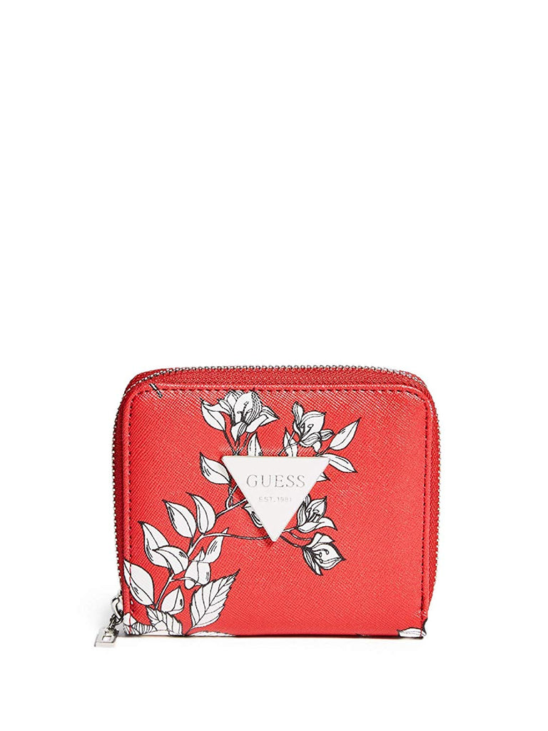 GUESS Factory Women's Abree Small Zip-Around Wallet