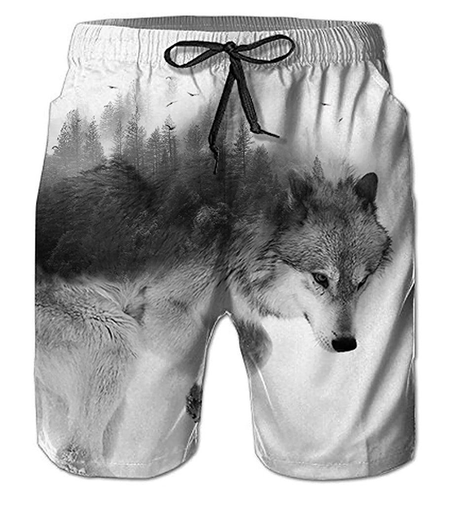 91a50f1cf7b Belovecol Mens Swim Trunks Summer Cool Quick Dry Board Shorts Bathing Suit  with Side Pockets Mesh ...