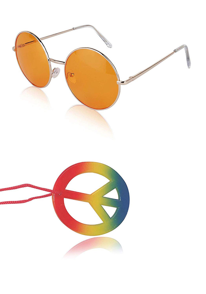 Sunny Pro Round Sunglasses Retro Circle Tinted Lens Glasses UV400 Protection