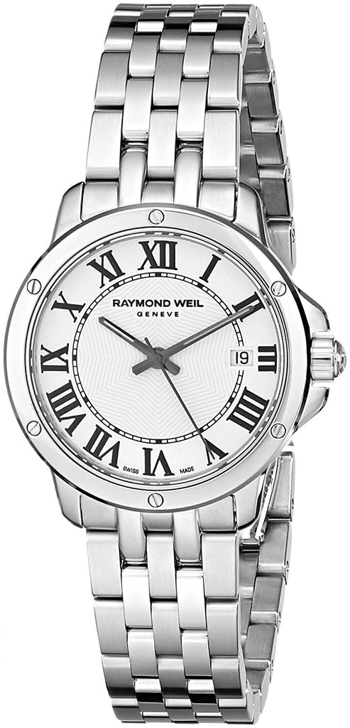 Raymond Weil Women's 5391-ST-00300 Tango Analog Display Swiss Quartz Silver Watch