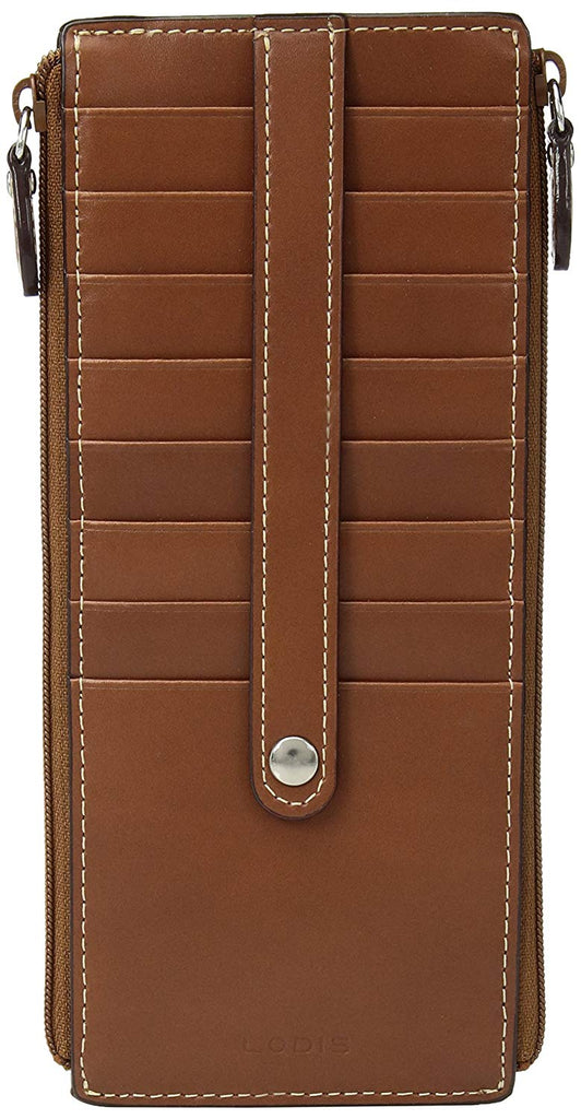 Lodis Women's Audrey RFID Joan Double Zip Card Case