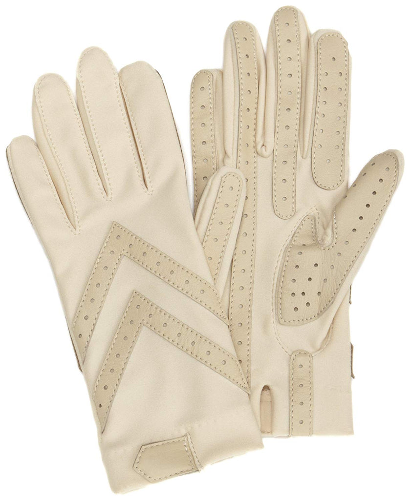 totes ISOTONER Womens Unlined Leather Palm Driving Gloves