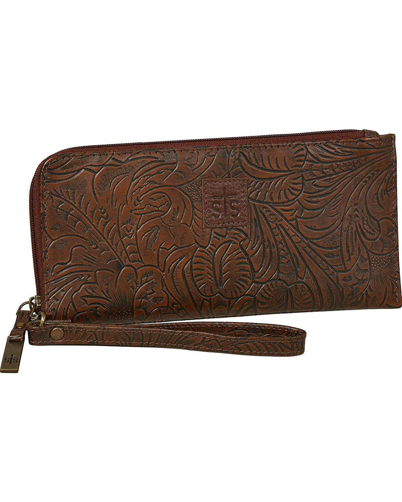 STS Ranchwear Womens The Floral Clutch