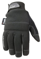 Wells Lamont 7760XL Black Winter Gloves, TouchScreen, 80 g Thinsulate Insulation, Fleece-Lined, XL, Black