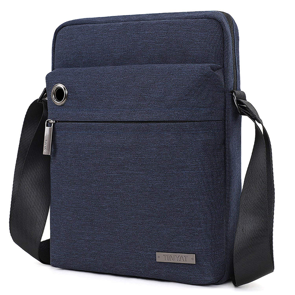 21af381bf5 TINYAT Fashion Men s Shoulder Bag Handbags Briefcase for the Office Messenger  Bag T512 (Deep Blue