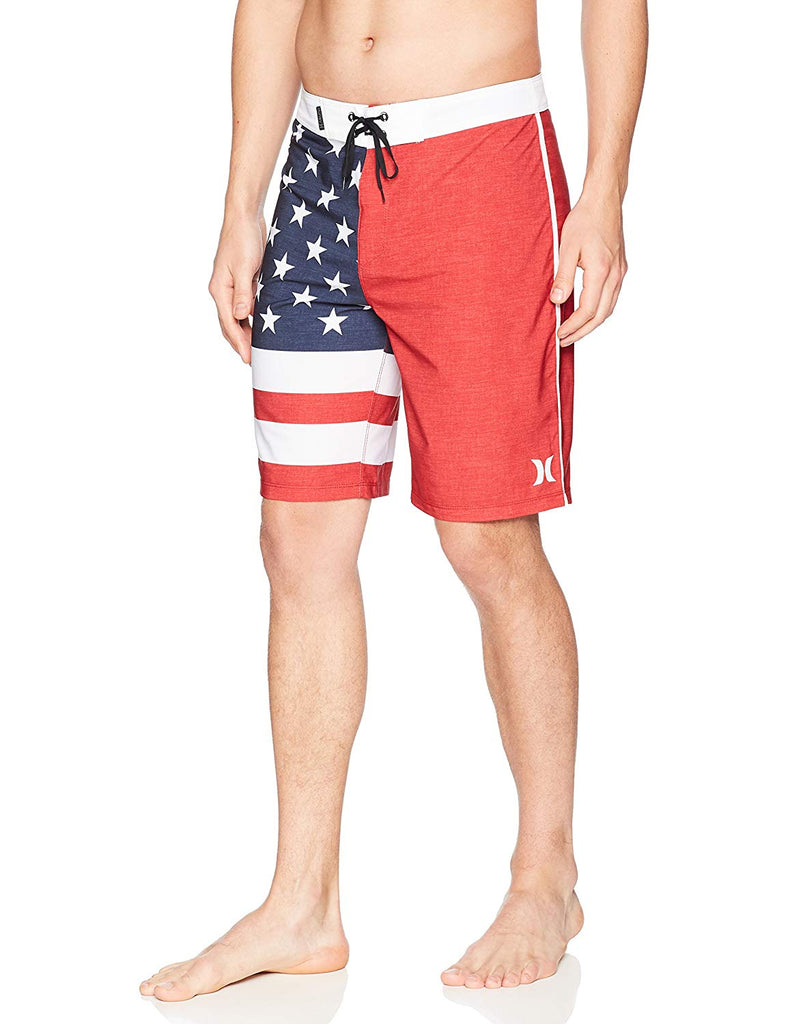7e0af4d322 Hurley Men's Phantom Cheers USA Flag 20