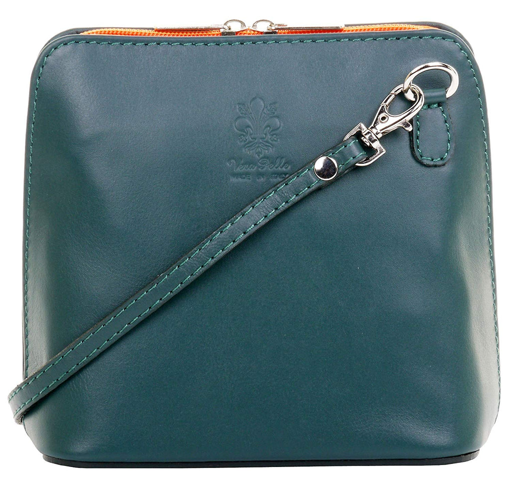 492e656adc42 Primo Sacchi Italian Soft Leather Hand Made Small Micro Cross Body Bag or  Shoulder Bag
