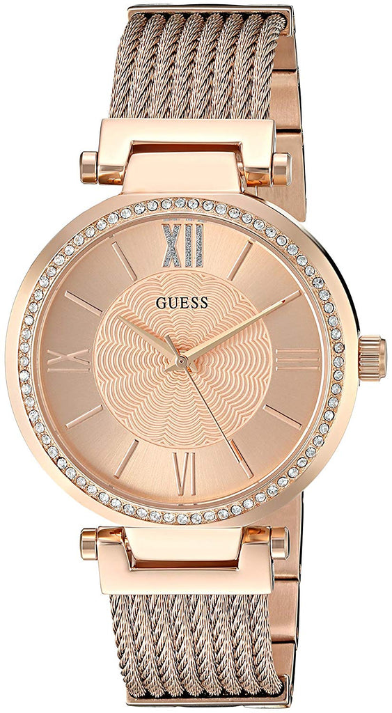 Guess Blue Modern Woven Watch