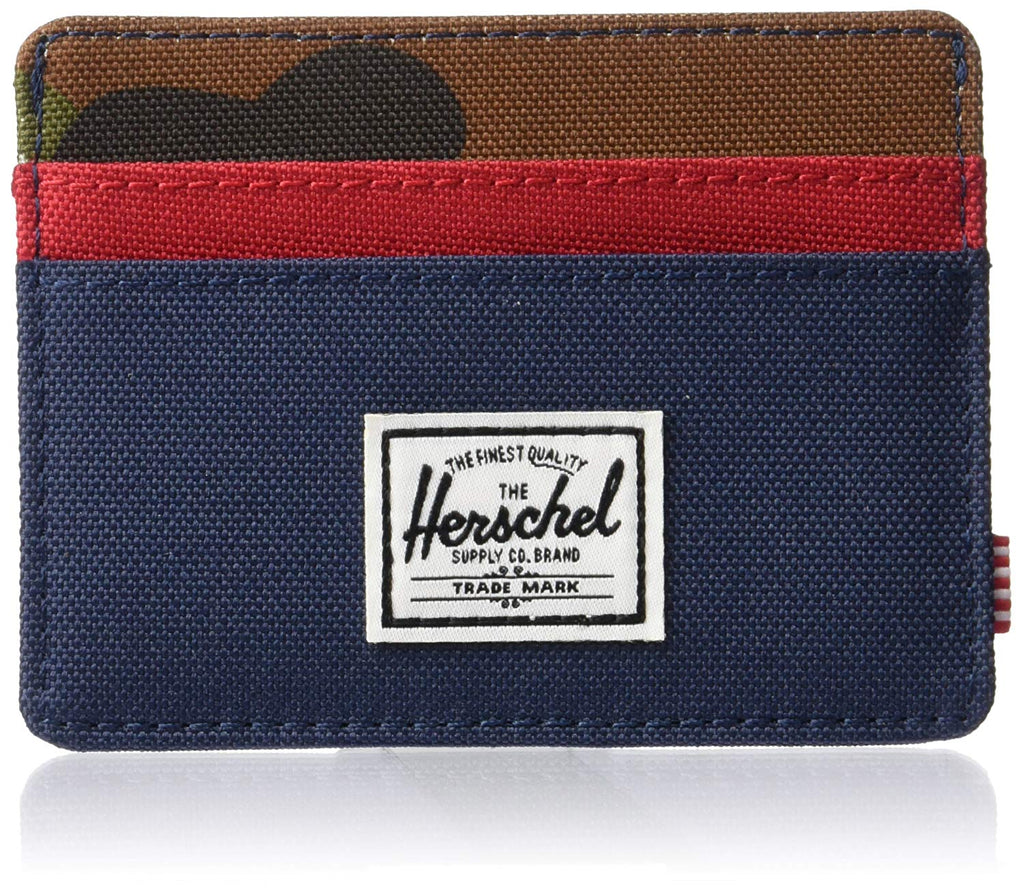 Herschel Supply Co. Men's Charlie Rfid Blocking Card Holder Wallet