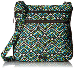 Vera Bradley Triple Zip Hipster, Signature Cotton