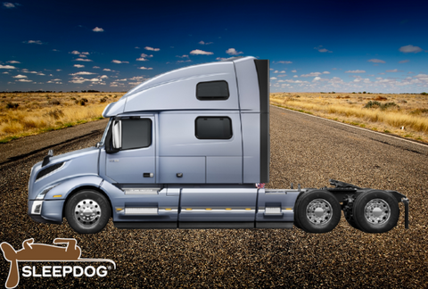 Volvo VNL 860 without trailer on Open Road