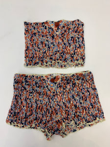 Poupette Bandeau and Short Set