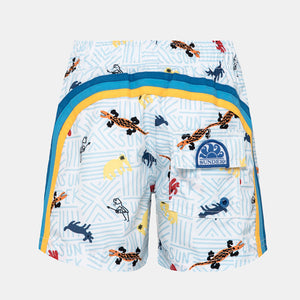 Sundek printed boys bathing suit