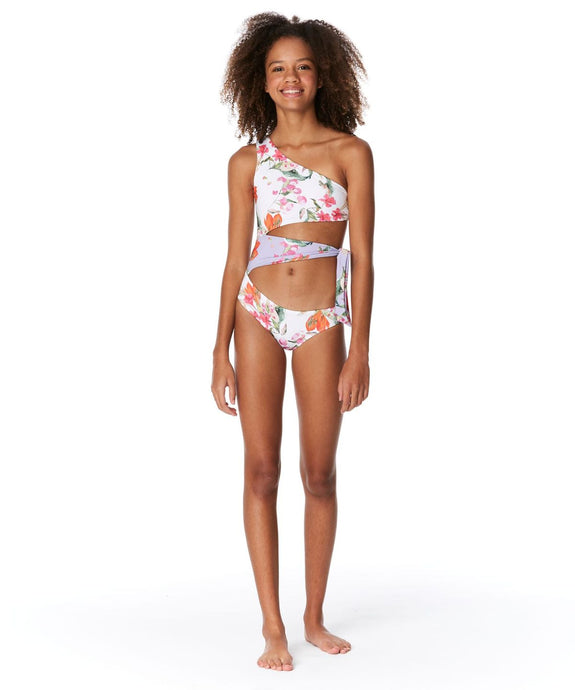 Submarine Florals Bathing Suit