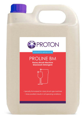 Proton - Proline BM Glasswash Detergent for Rotary Brush Machines 5L