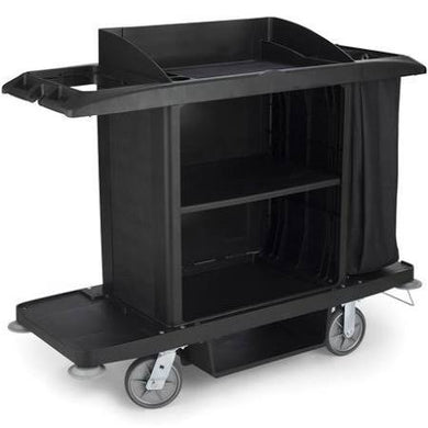 Rubbermaid Assembled Housekeeping Cart