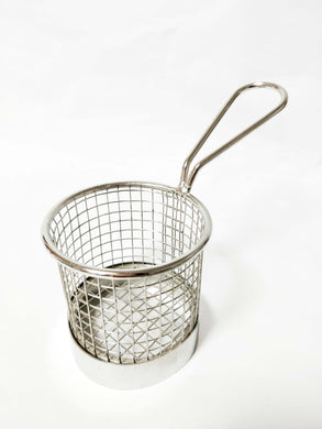 Round Fry Wire Basket 8cm Diameter
