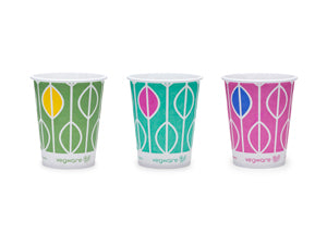 9oz paper cold cup, 76-Series - Hula