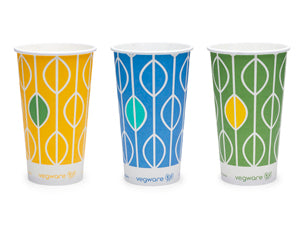 12oz paper cold cup, 76-Series - Hula